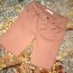 Melrose and Market skinny chinos in salmon